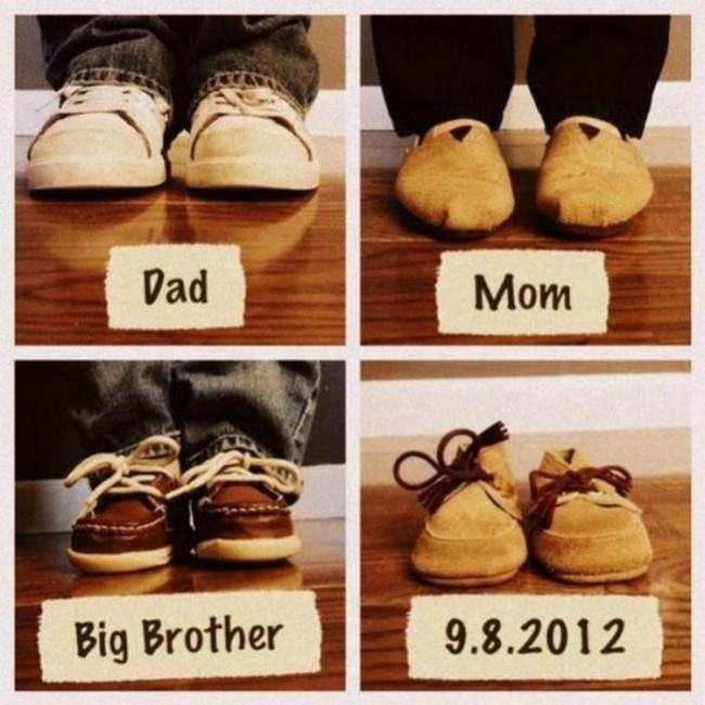 cute baby announcement ideas