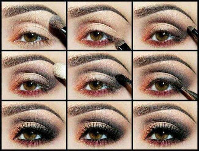 Как красиво накрасить маленькие карие глаза в домашних условиях