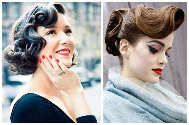 The Foxy and Vintage Pin Up Hairstyles