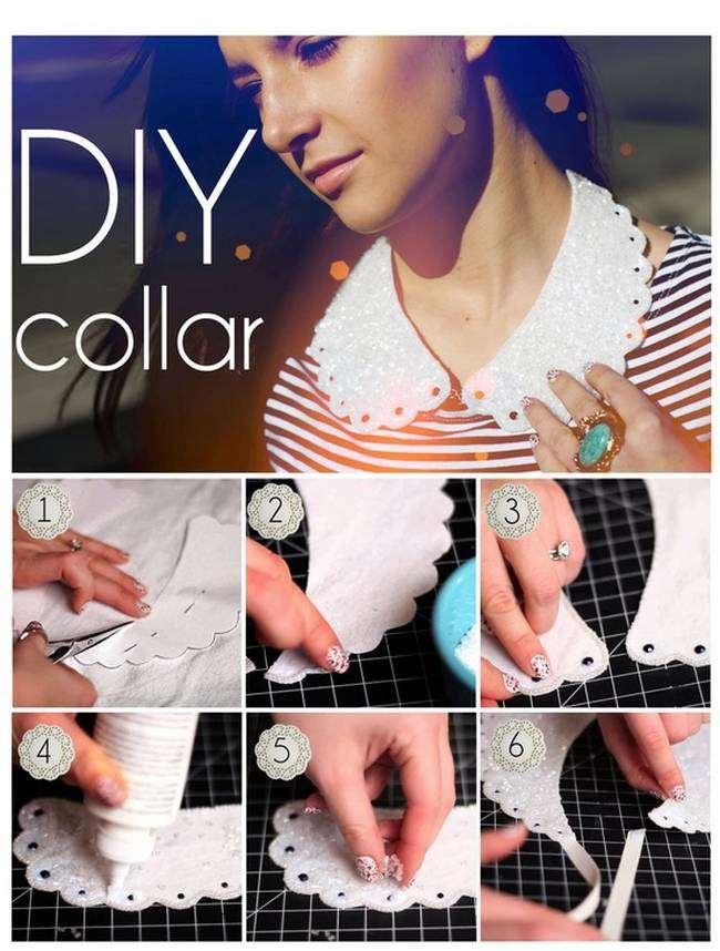 Girly Diy Acrylic Nail Designs: 20 Girly DIY Collar Projects