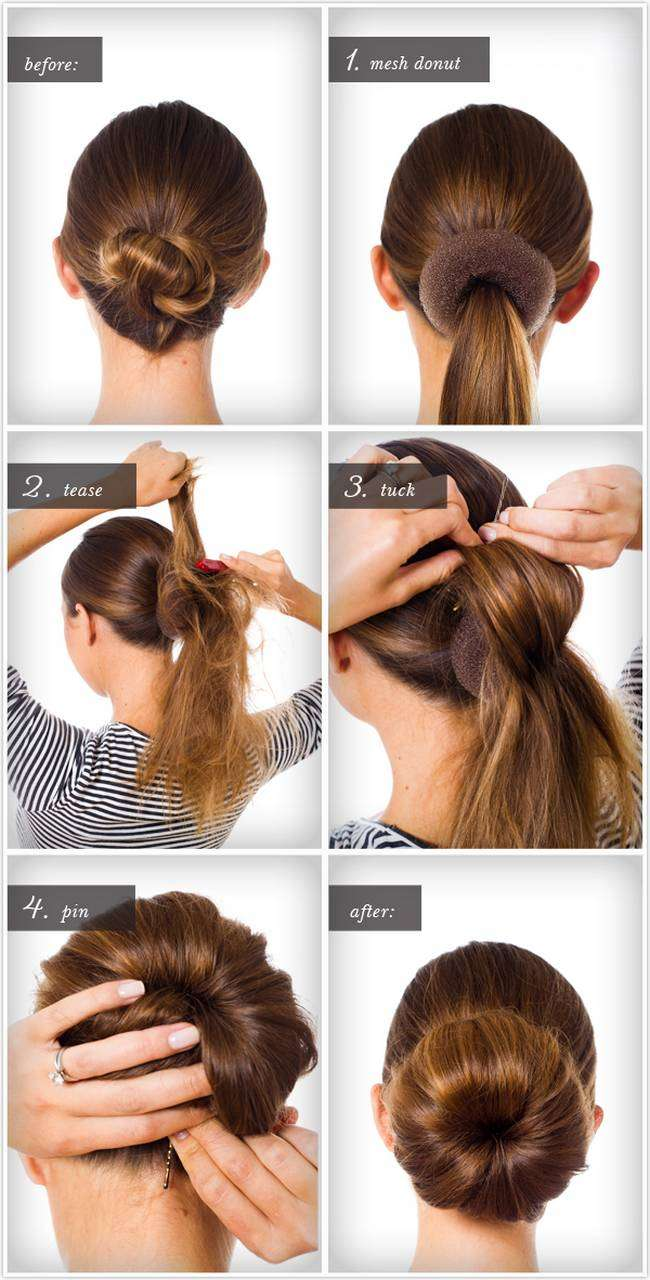 Super Knotted Headband Braid With Ballet Bun Braids Hairstyles For Men Maxibearus