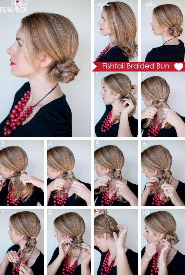 как самой сделать прическу волос