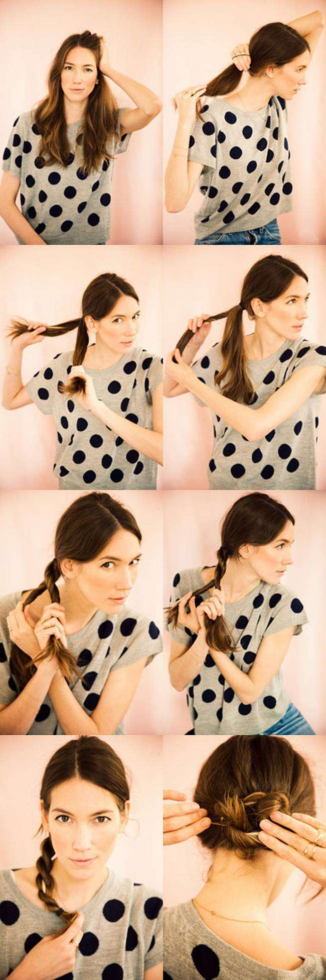 How to bun hairstyles step by step - How To Bun Hairstyles Step By Step 42