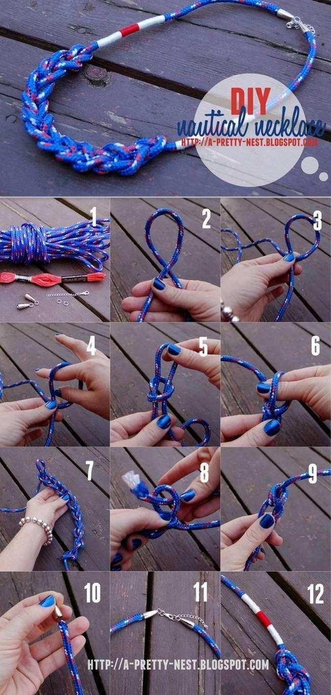 Amazing DIY Necklaces Tutorials 10 Amazing DIY Necklaces Tutorials