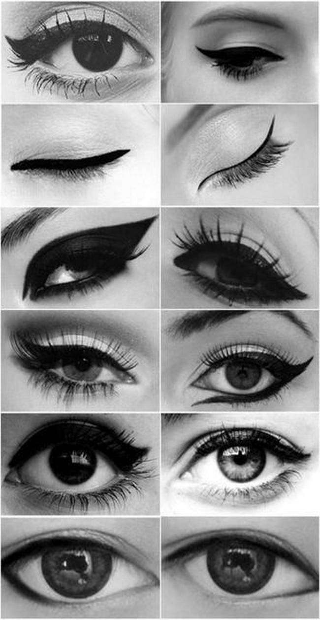 Eyeliner Ideas and Step by Step Tutorials 4 Eyeliner Ideas and Step by Step Tutorials