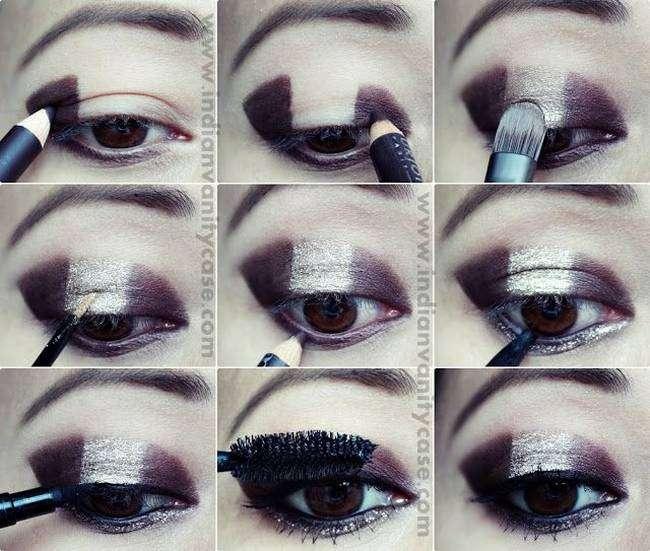 New Yearu0026#39;s Eve Glitter Eye Makeup Tutorials
